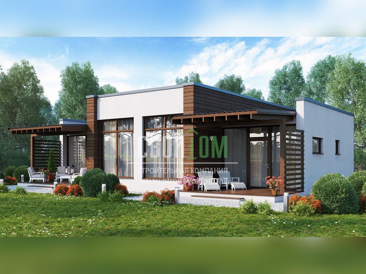 1 эт дом с террасой