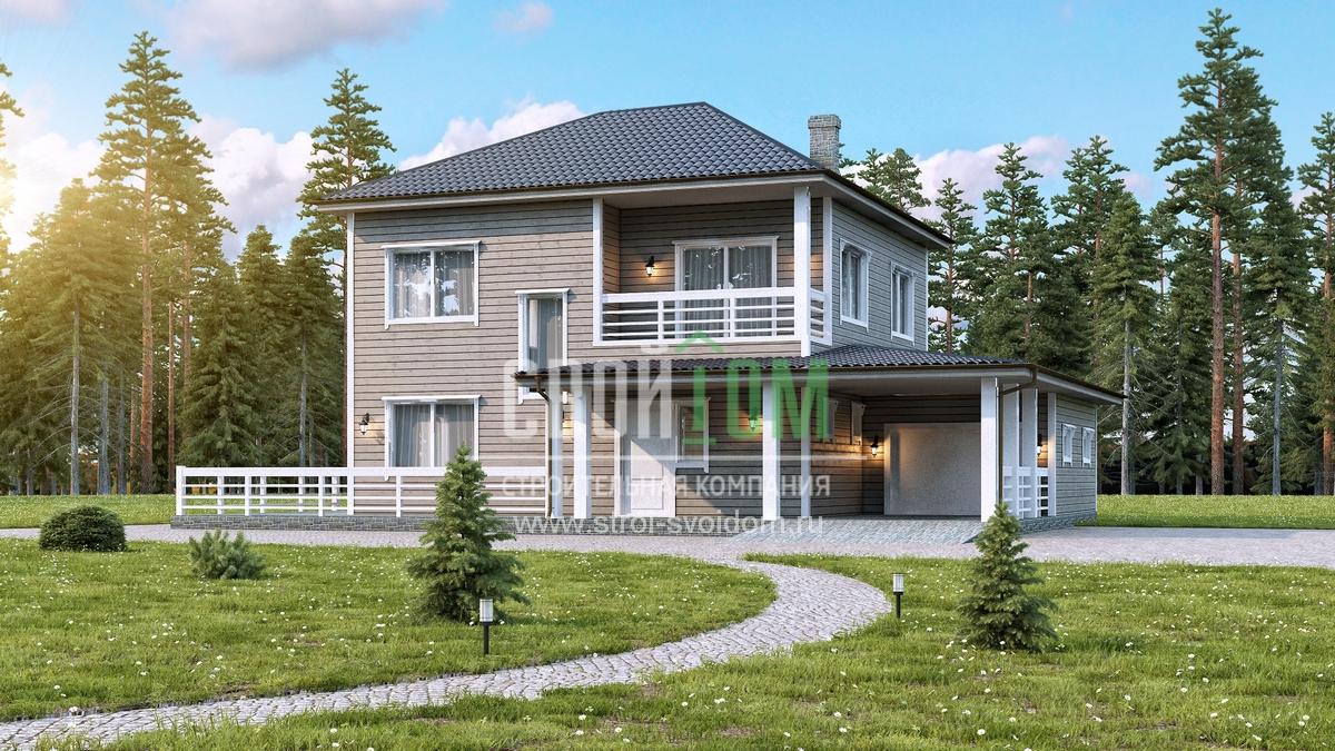 2-этажные дома