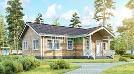 1-этажный дом для молодой семьи