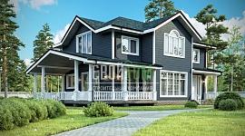 Удобный, надежный, представительный – таких метафор достоин представленный жилой дом