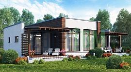 Одноэтажный коттедж для молодой семьи