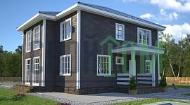 В наши дни технологии домостроения позволяют взять этот проект за основу