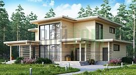 Современные домостроительные технологии позволяют взять этот проект за основу