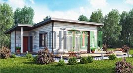 Новейшие технологии домостроения позволяют взять этот проект за основу